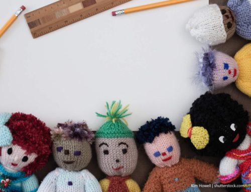 Spielzeug für den multikulturellen Kindergarten