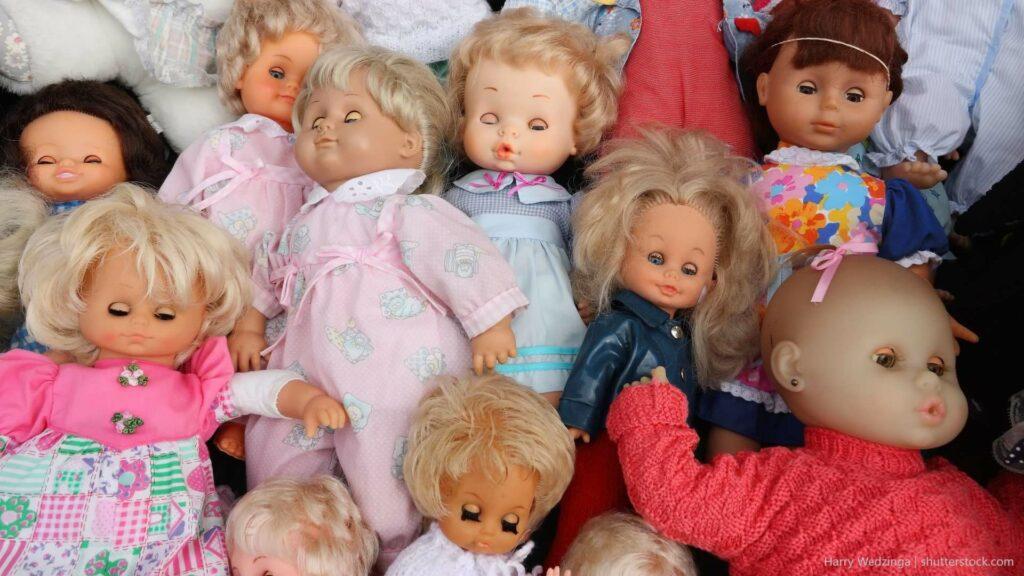 verschiedene Puppen für die interkulturelle Arbeit