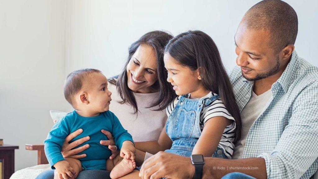 Die Familensprache hat eine wichtige Bedeutung.