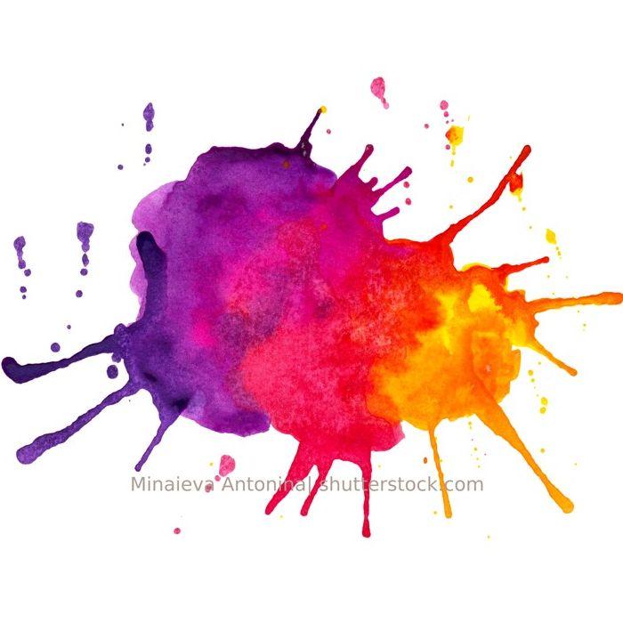Farbklecks - Besuchen Sie uns auf kindergartenseminare.de